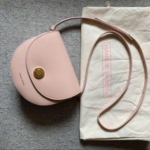 Mansur Gavriel Mini Saddle bag Pink Rosa